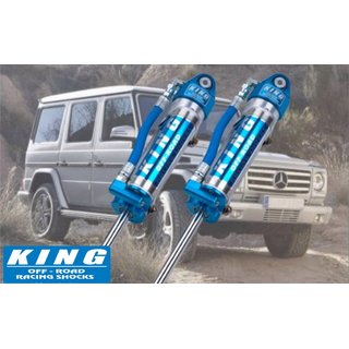King 2.5 FITMENT REMOTE OF RESERVOIR RESERVOIR SHOCK BRACKET (W/ ADJUSTER) (Front) für MERCEDES G SERIES (Bj. 90-17)