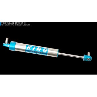 King 2.5 PIGGY HOSE SHOCK FOR 2 (LIFTS W/ ADJUSTER) (Rear) für TOYOTA LAND CRUISER 80 (Bj. 89-97)