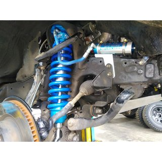 King 2.5 REMOTE RES. COILOVER W/ ADJUSTER (INTL) (Front) für TOYOTA LAND CRUISER 200 (Bj. 08+)