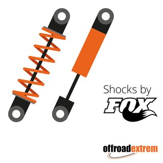 FOX 2.0 X 5.0 COIL-OVER REMOTE RESERVOIR SHOCK (CUSTOM VALVING)- ADJUSTABLE