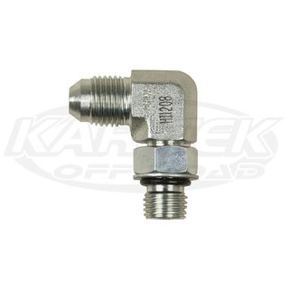 FOX Adapter 7/16-18 X -5 Male AN 90°